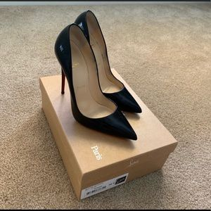 Christian Louboutin So Kate Black 38.5